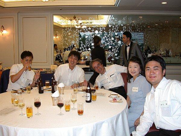 今年の関東八雲会で若手OB達 (じゃない人も居ますが) と